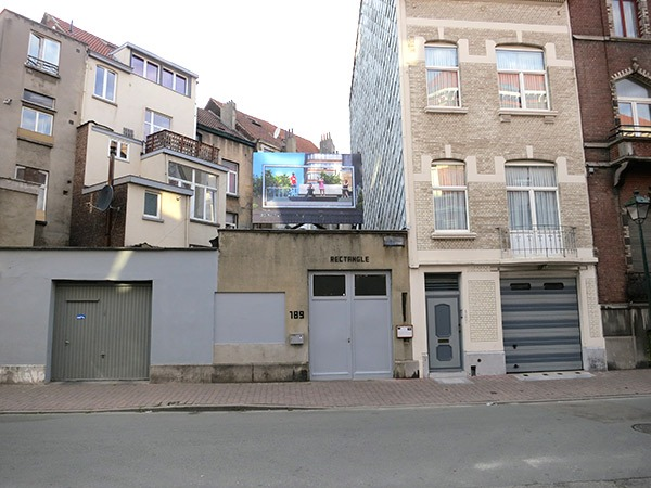 Exhibition view Here Comes Your Neighborhood, Rectangle, Brussels