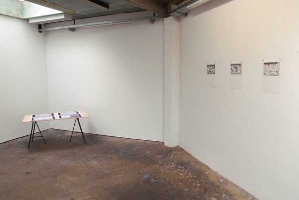 FILIP VAN DINGENEN, Exhibition view MAS PRESENTE!, 2014