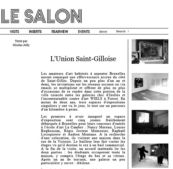 Le Salon : Union St Gilloise 2013