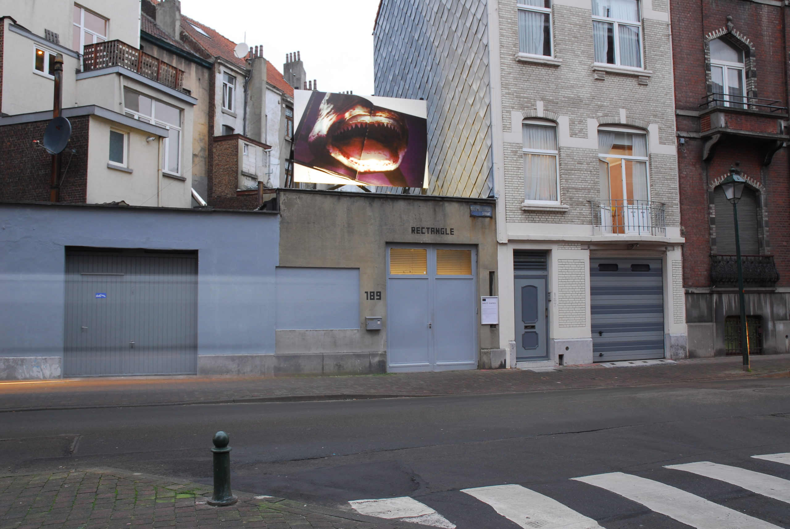 Benoit Plateus, A mange B, 2013, Rectangle, Brussels