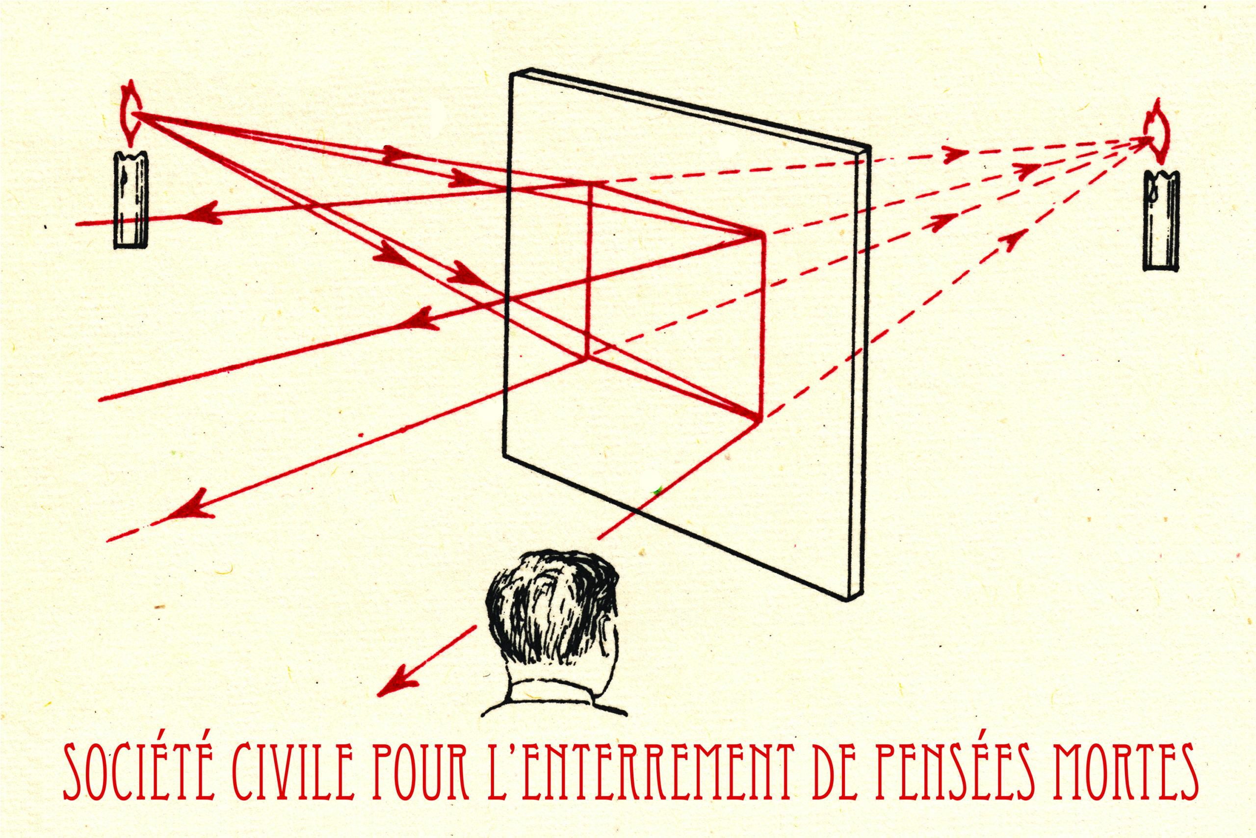 PABLO HELGUERA, Société Civile pour l'Enterrement de Pensées Mortes, Rectangle, Brussels