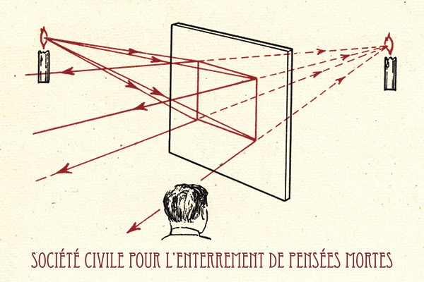 PABLO HELGUERA, Société Civile pour l'Enterrement de Pensées Mortes