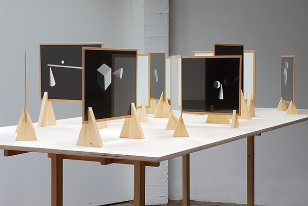MAGALI LEFEBVRE , Exhibition view Moduli, pictures, 2014