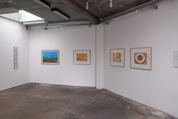 Exhibition view, Atelier Tchikebe,  Rectangle, Brussels, 2013