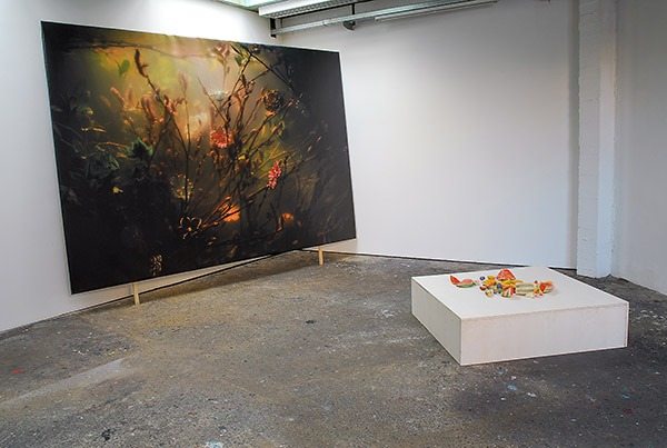VINCENT OLINET, Exhibition view Je ne peux pas faire de miracles, 2014