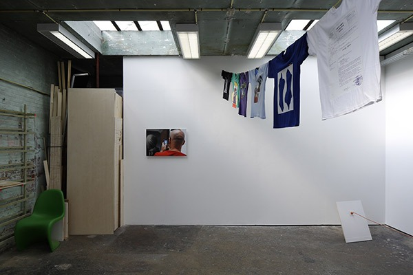 NICHOLAS KNIGHT, exhibition view No Such Thing As Subject or, Who Let the Nerds Out?, Rectangle, Brussels