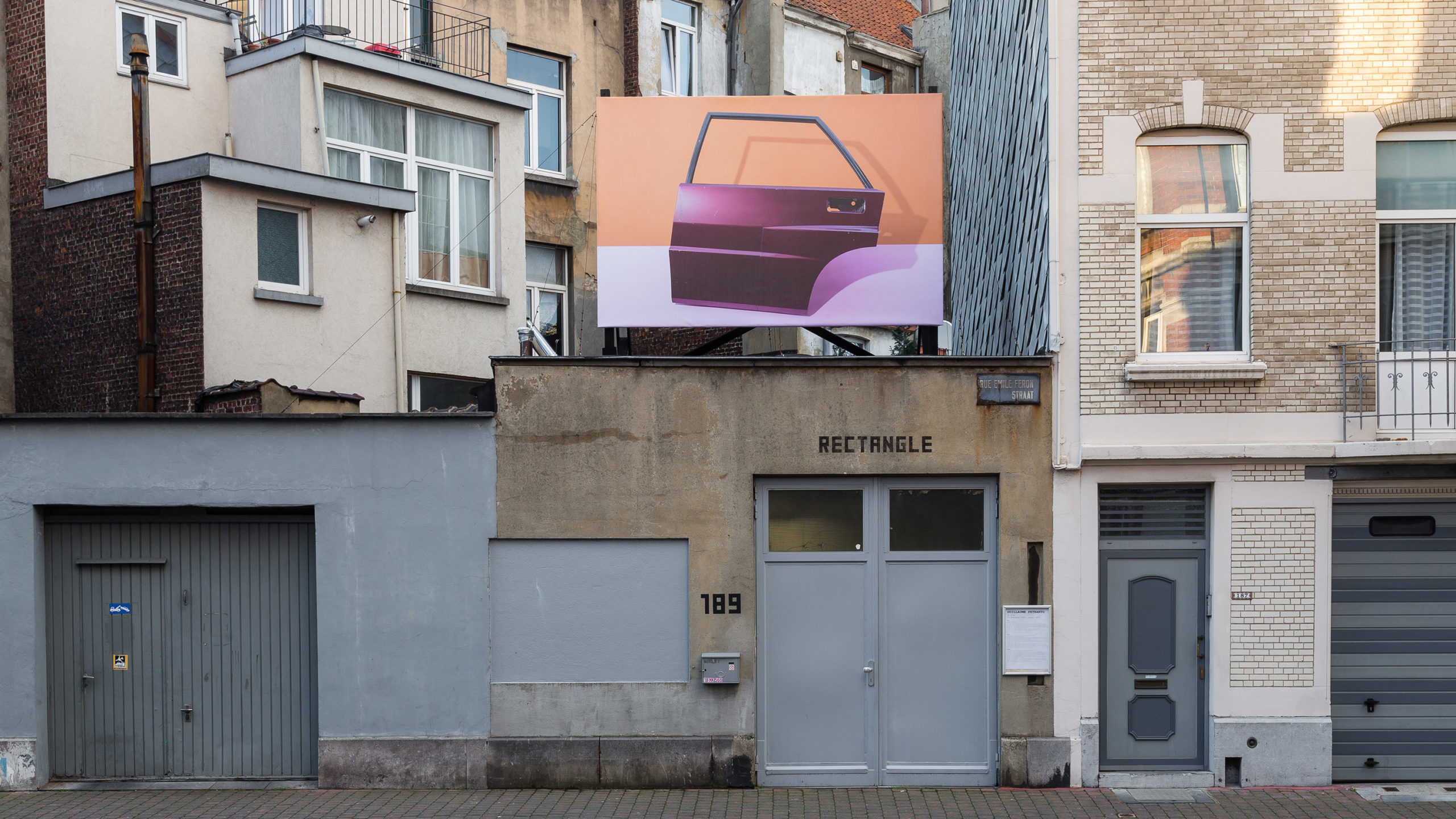 Guillaume Petranto, Te Koop, 2016, Rectangle, Brussels