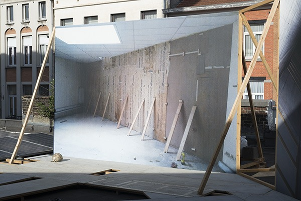 YOEL PYTOWSKI, Backforward, 2018, Rectangle, Brussels