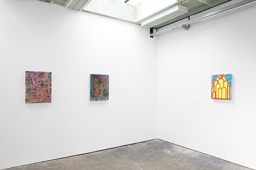 CHRIS MARTIN, Exhibition view, Rectangle, Brussels, 2015